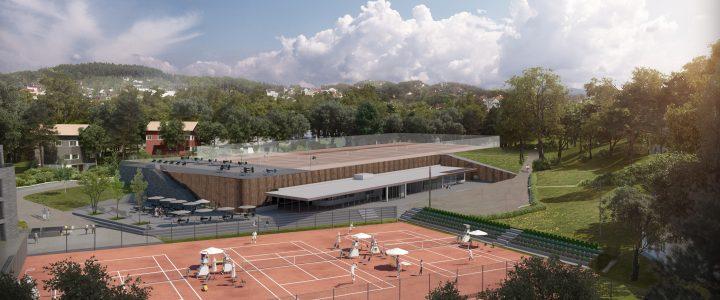 Tennishallprosjekter i Norge