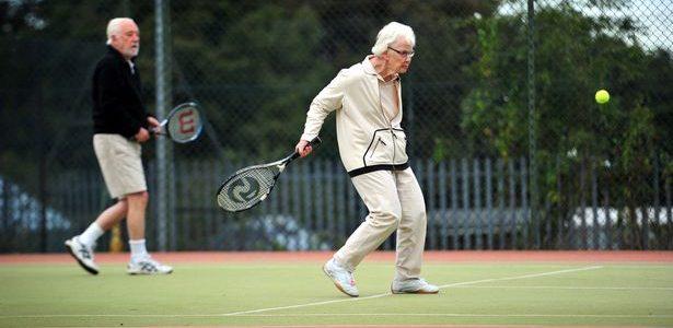 Spill tennis og lev lenge!